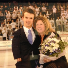Senior Night with Mom