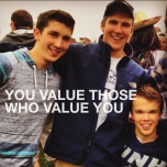 you value those who value you